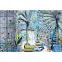 Jardin d'hiver - décor panoramique