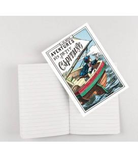 """Cahier d'écriture """"Aventures d'un petit capitaine"""""""