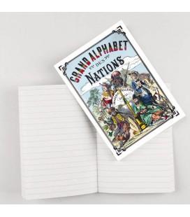 """Cahier d'écriture """"Grand alphabet des nations"""""""