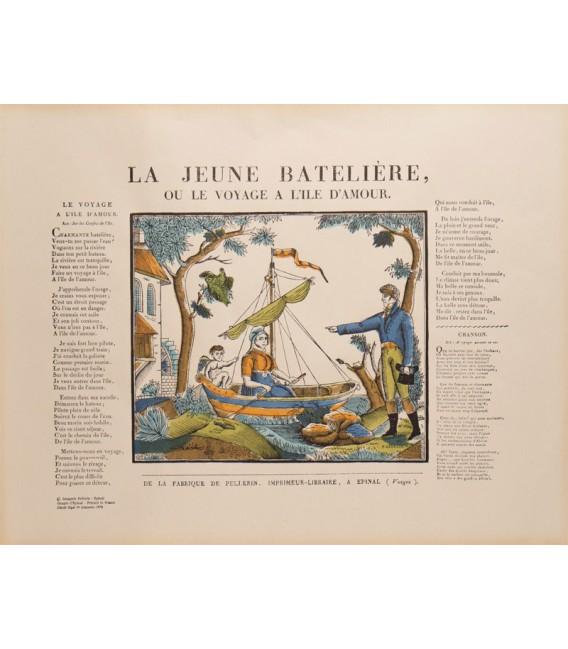 LA JEUNE BATELIÈRE OU LE VOYAGE À L'ILE D'AMOUR.