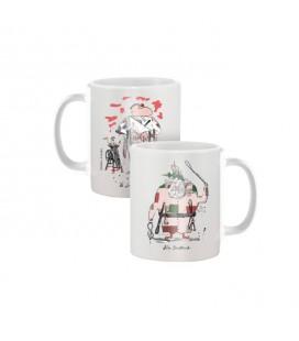 """Mug """"le Boucher et le Père Fouettard"""""""