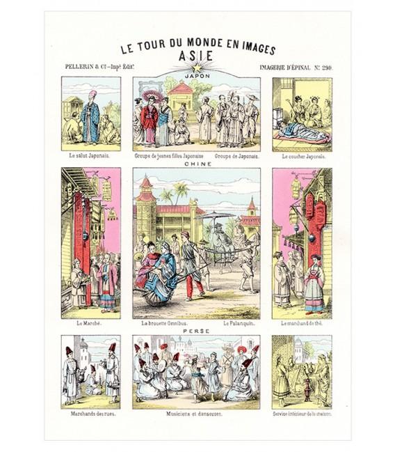 "Image ""Tour du monde Asie"""