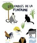 """Affiche """"Les fables de la fontaine"""""""