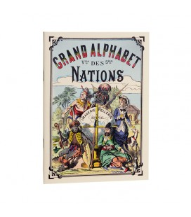 "Cahier d'écriture ""Grand alphabet des nations"""