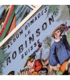 """Cahier d'écriture """"Robinson Suisse"""""""