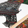 """La tour Eiffel"" carnet A5"