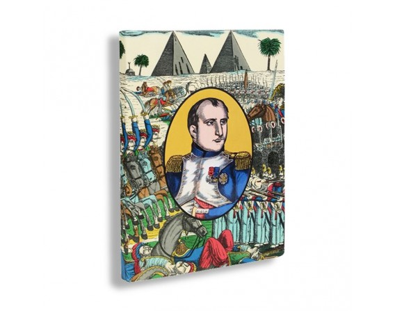 """Napoléon et les pyramides"" carnet A5"