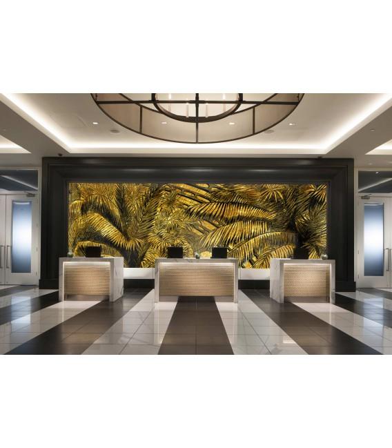 Palmes - décor panoramique