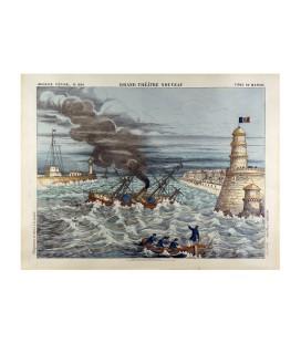 Fond de marine n°1634