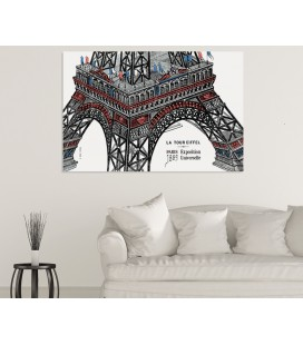Tour Eiffel - support premium