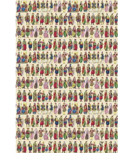 """Papier-peint """"Costumes orientaux"""""""