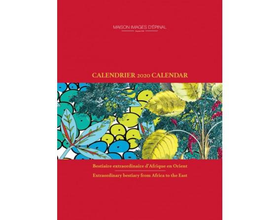 Achat Calendrier 2020.Calendrier 2020 De L Imagerie D Epinal