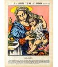 La sainte vierge au raisin