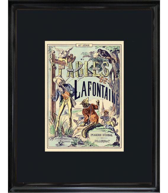 """Image """"Edition originale 1879"""" - Fables de la fontaine n°1"""