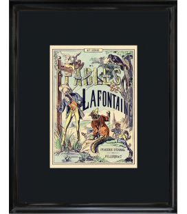 "Image ""Edition originale 1879"" - Fables de la fontaine n°1"