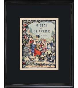 """Image """"Edition originale 1879"""" - Visite à la ferme"""