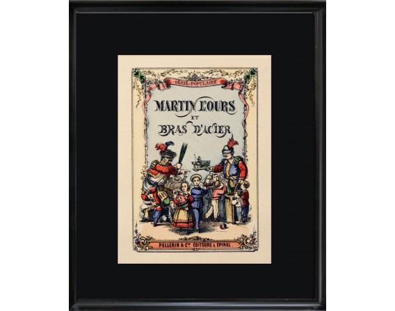 """Collection Edition Originale """"Martin l'ours et bras d'acier"""""""
