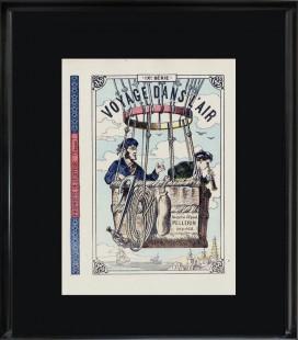 """Image """"Edition originale 1879"""" - Voyage dans l'air"""
