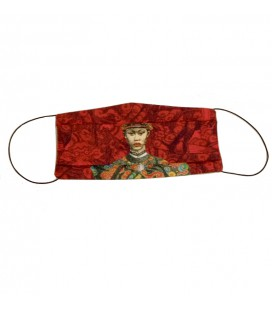 Masque de protection 2 couches Rouge