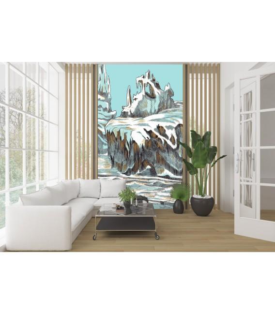 Banquise - décor panoramique