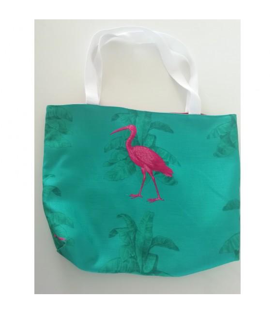 Sac ibis fond vert