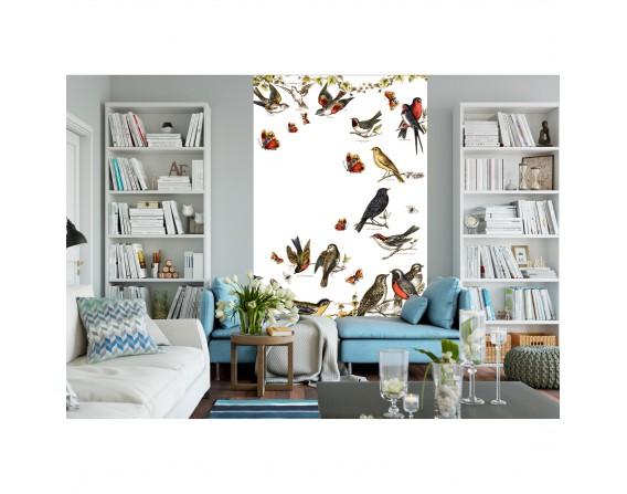 Envol de papillons - décor panoramique
