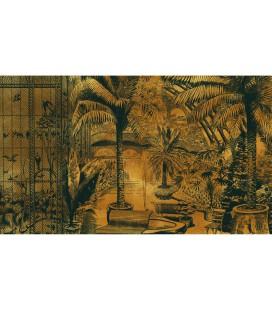 Jardin d'hiver doré - décor panoramique