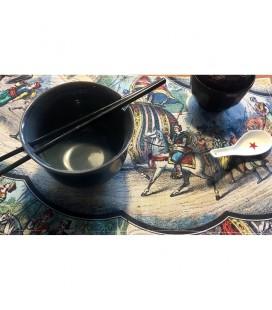 Set de table indien en lin-coton