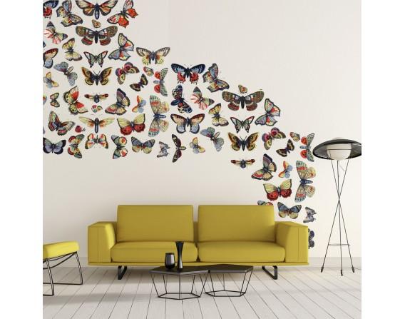 Papillons - décor panoramique