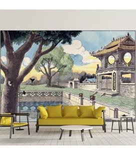 Décor panoramique - palais chinois