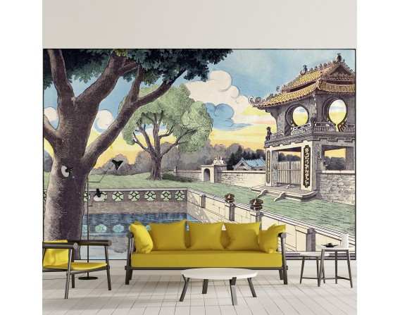 Palais chinois - décor panoramique