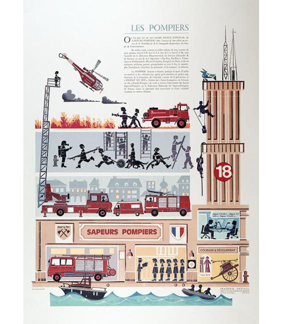 Les Pompiers - Jean-Paul MARCHAL