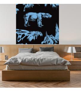 Décor panoramique - ours polaire