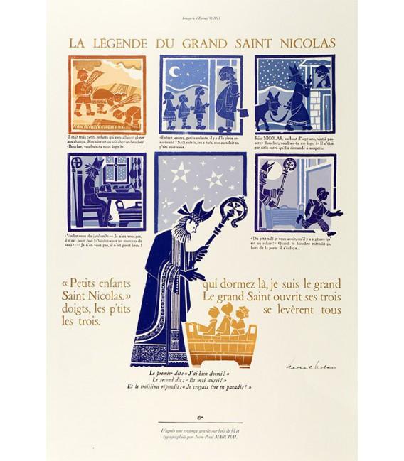 La Légende de Saint Nicolas - Jean-Paul MARCHAL