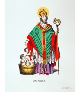 Saint-Nicolas - image traditionnelle