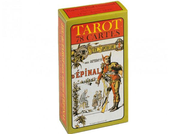 Jeu de tarot traditionnel Imagerie d'Epinal