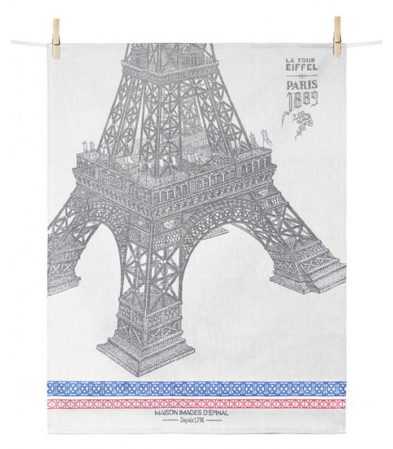 Torchon PARIS 1889 TOUR EIFFEL