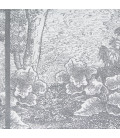 serviette de table Fougère