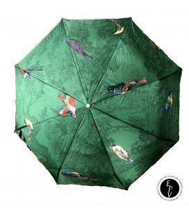Parapluie Forêt aux oiseaux et Maison Piganiol