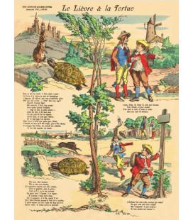 """Image """"Le lièvre et la tortue"""""""