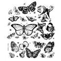 """Sac en coton """"A tire d'ailes"""" - La chasse aux papillons"""