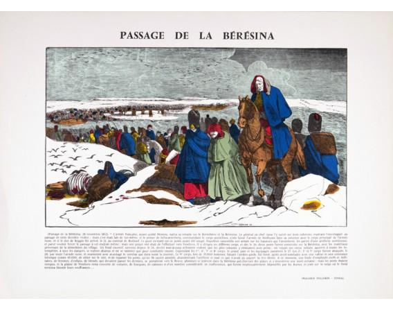 Le passage de la Bérésina par François Georgin
