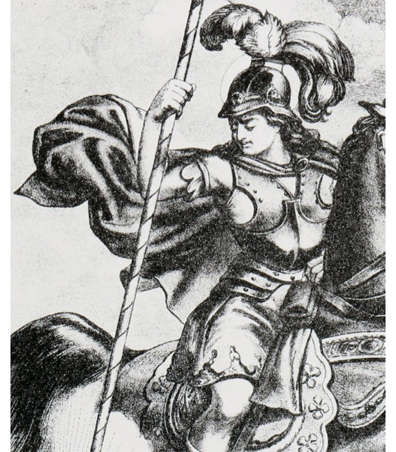 "Lithographie ""Saint Georges"""