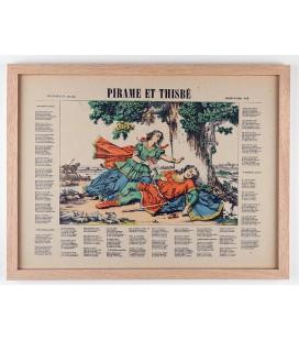 Pirame et Thisbé encadrée / Collection Tourments