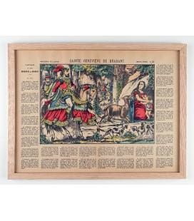 Sainte Genevieve de Brabant encadrée