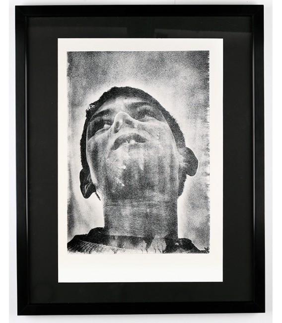 Lithographie Tchétchénie par Louis Jammes
