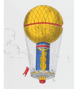 """""""Les Ballons"""" en couleurs - encadré"""