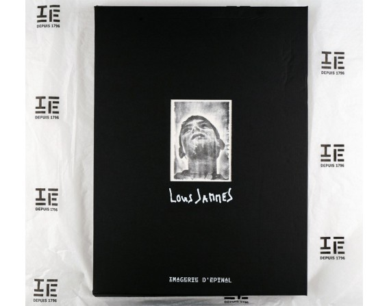 Coffret de 4 estampes Louis Jammes