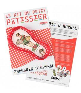 Le kit du petit patissier (moule rouge)