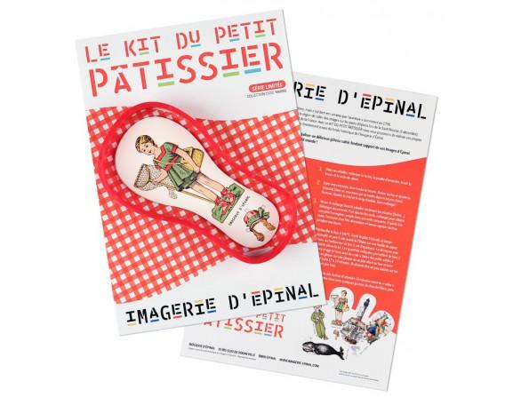 Le kit du petit pâtissier (moule rouge )